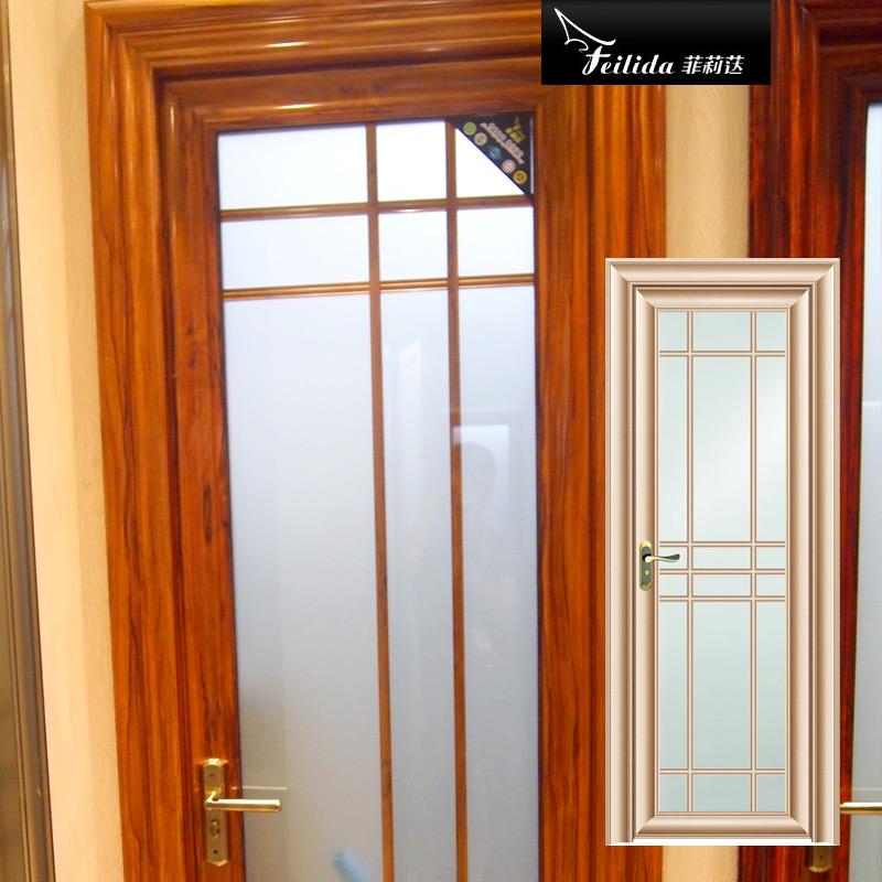 菲莉荙(Feilida)PK-M015铝合金平开门钛镁卫生间门钢化玻璃隔断厕所门浴室卫浴厨房门
