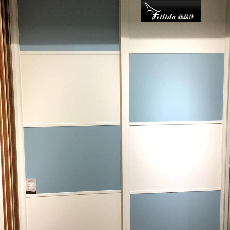 菲莉荙(Feilida)YG-E124衣柜推拉门衣柜简约推拉衣柜2门衣柜门新款