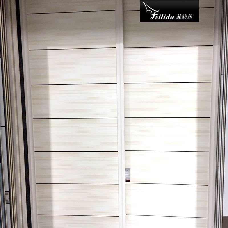 菲莉荙(Feilida)YG-E130简约现代衣柜推拉门卧室衣橱衣帽间2门