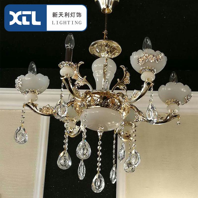 新天利燈飾(Tianli)6頭水晶燈