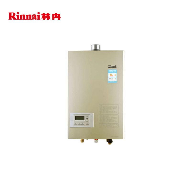 林内(Rinnai) (天然气)燃气热水器  彩韵系列 16升平衡机智能恒温RUS-13FEK(F)