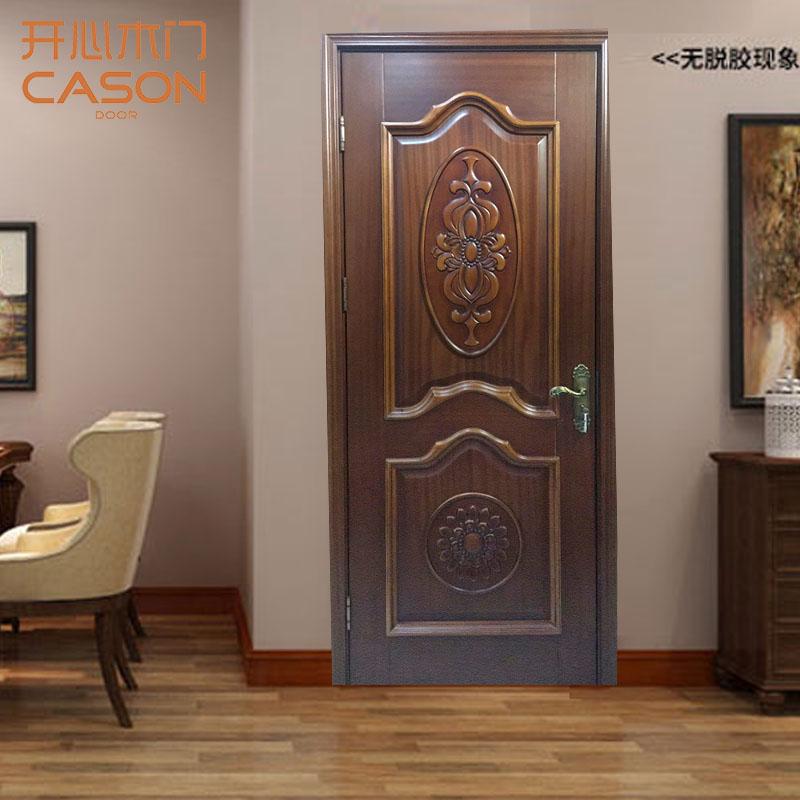 开心木门(CASON)KD-320沙比利p301 规格210*90  厚度4.5cm