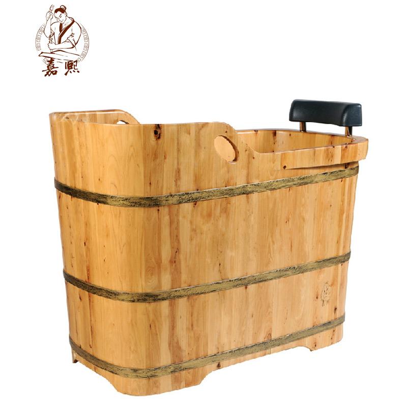 嘉熙木桶JX-0901 沐浴桶泡澡木桶香柏木成人柏木坐浴桶沐浴桶泡澡