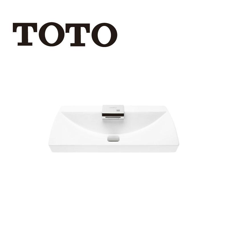 【预约款】TOTO卫浴智能感应瀑布式吐水口温度可控台上式洗脸盆LW991B