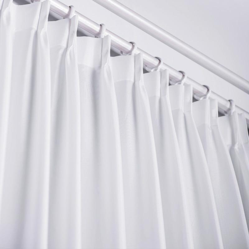 如意屋家居 遮像隔热隐格 客厅卧室 定制现代简约环保窗纱CS101001