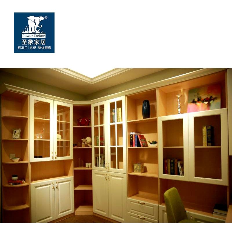 圣象衣柜  现代简约   书柜枫木色