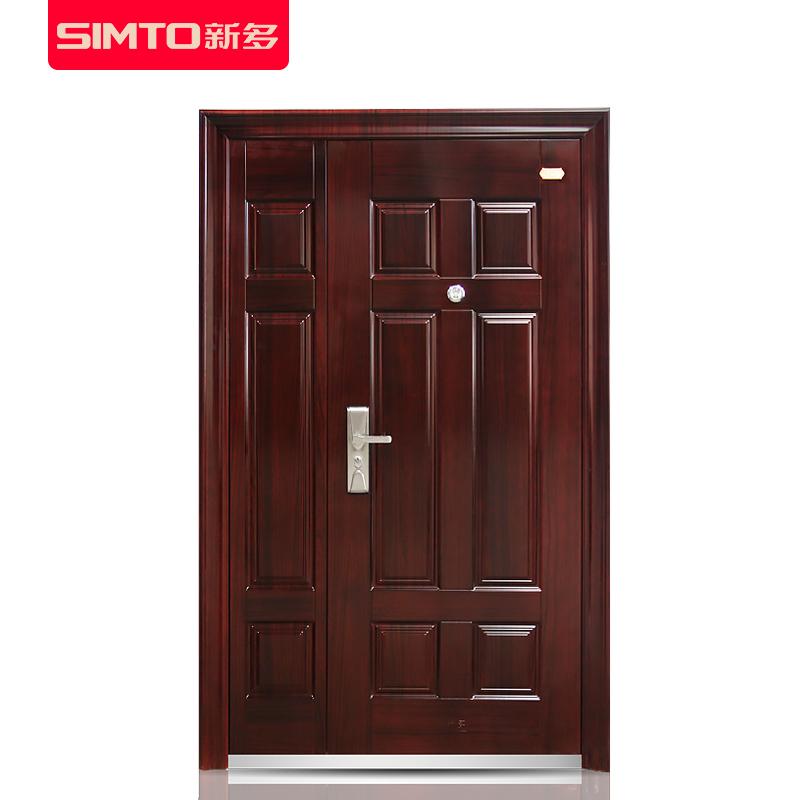 新多防盗子母门进户门办公室安全门双开门大门门房门入户门可定制