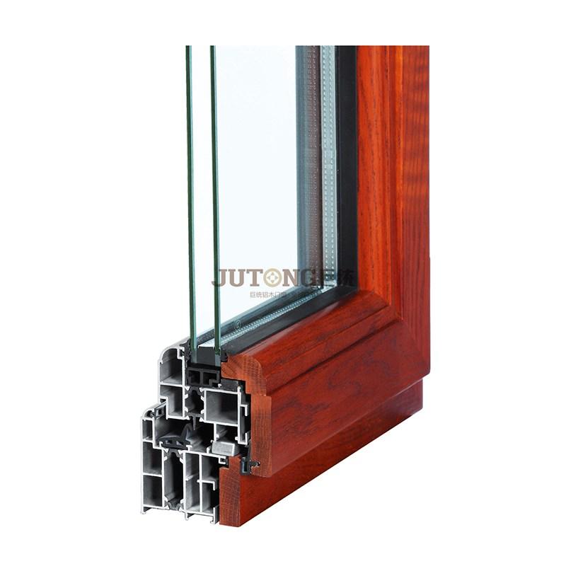 木门窗铝木复合窗隔音窗别墅木包铝封阳台