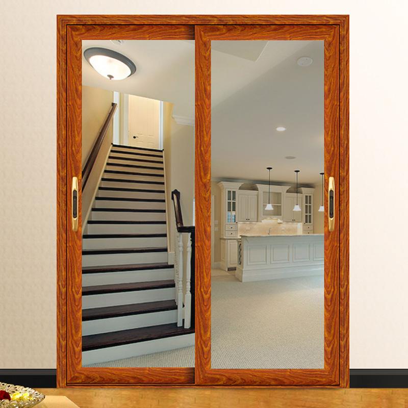 铝合金推拉门阳台钢化玻璃移门室内门客厅厨房移门定做隔断门