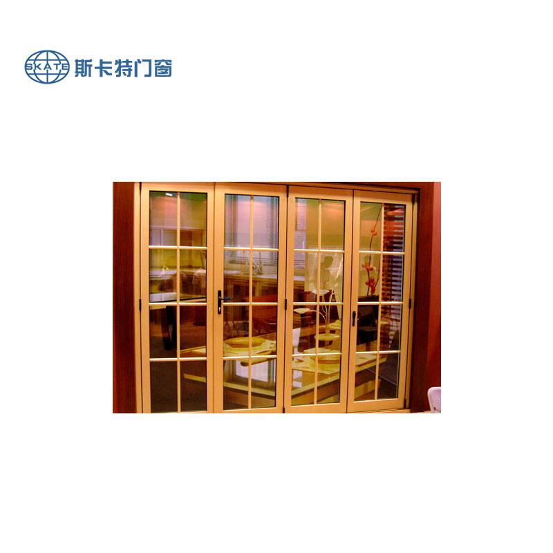 斯卡特门窗-木包铝门窗-平开门