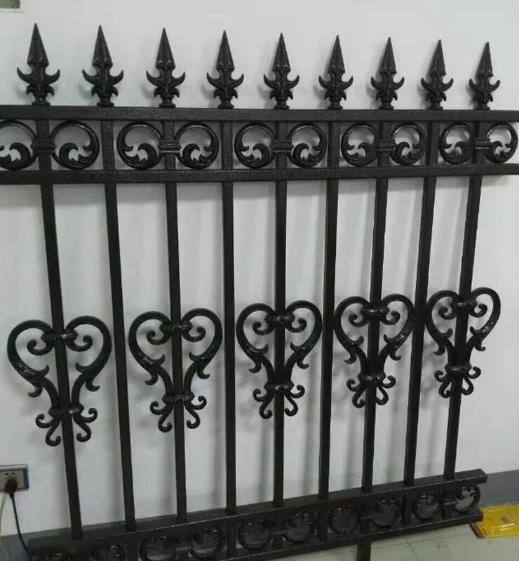 世伟门窗-铁栅栏 铁护栏 小区铁艺护栏 欧式别墅庭院防护栏