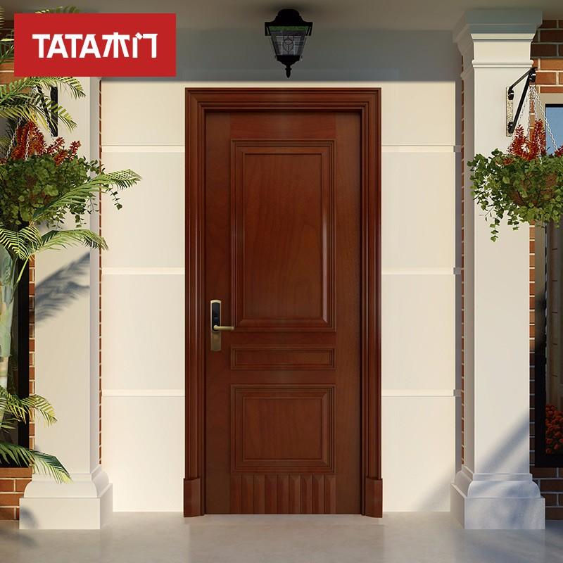 TATA木门 (tata)智能入户门安全防盗隔音院内庭院室内门ZM002JO016