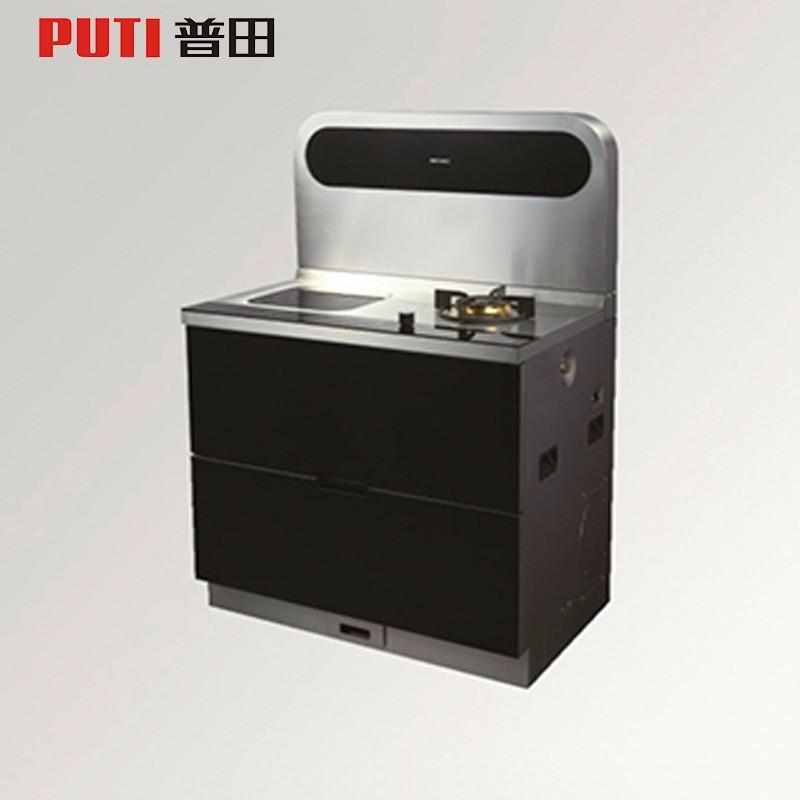 普田电器一体机灶具消毒柜烘干柜一体厨房电器509AE(S)