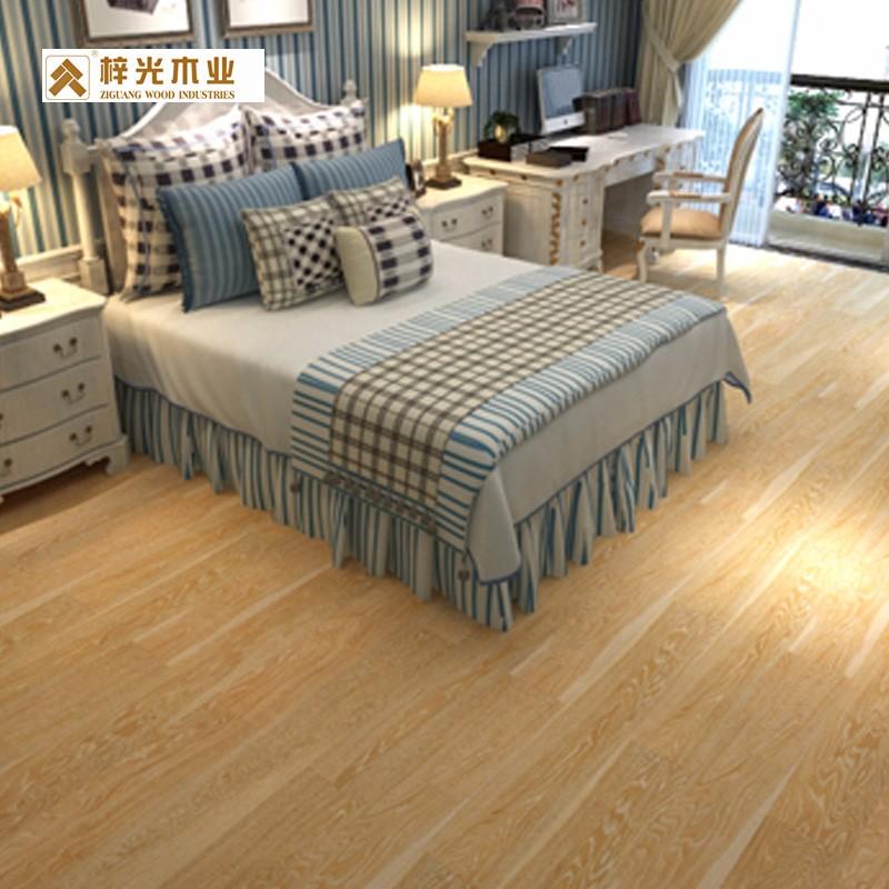 梓光地板原产地无锡 水曲柳客厅卧室地板 简约地板