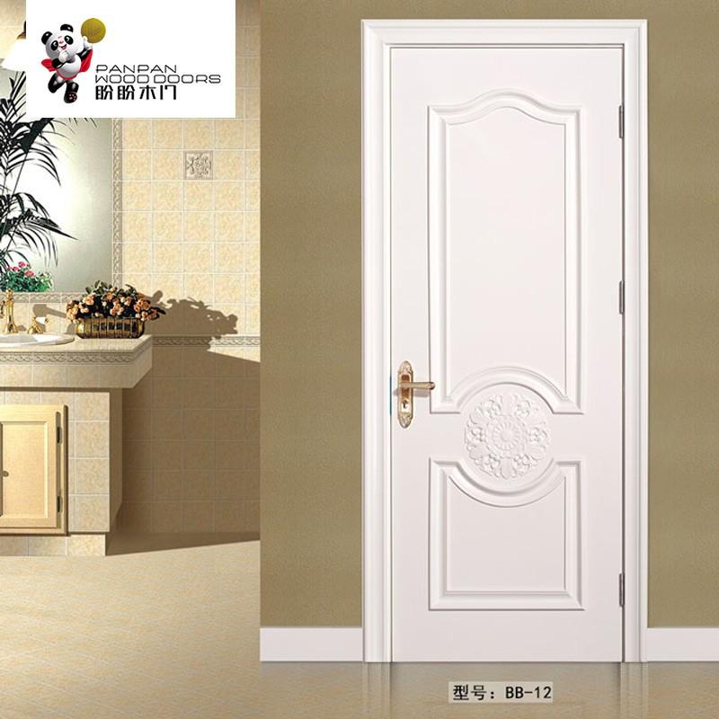 盼盼实木复合烤漆门BB12  适用类型:室内门、卧室门