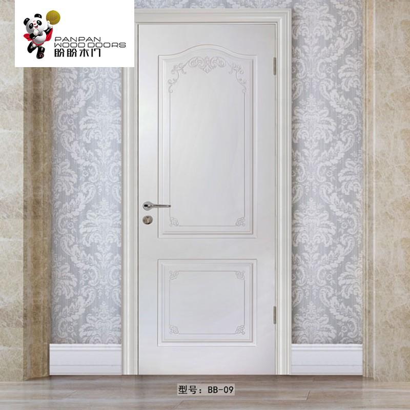 盼盼实木复合烤漆门  BB09  适用类型:室内门、卧室门