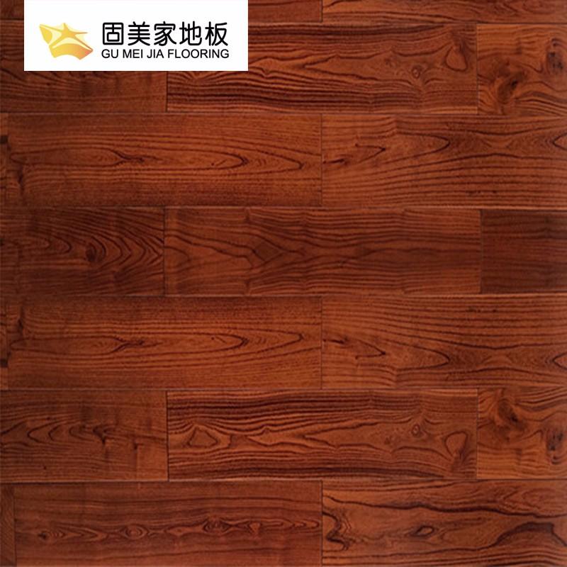 固美家地板强化复合耐磨环保原木风厂家直销可安装04