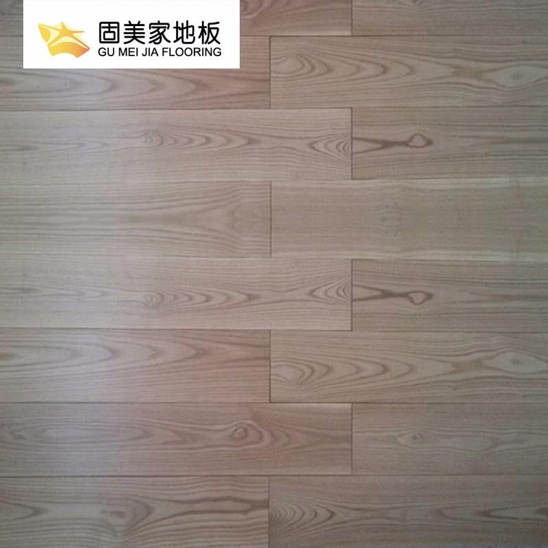 固美家地板强化复合耐磨环保原木风厂家直销可安装01