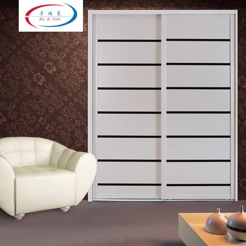 卡迪曼(KDM)移门衣柜 整体衣柜定制 欧式简约推拉门衣柜组合04