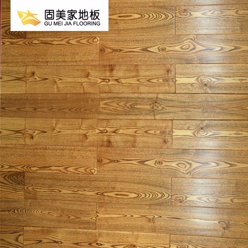 固美家地板强化复合耐磨环保原木风厂家直销可安装03
