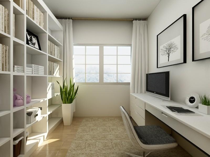 林泉雅舍-现代简约风格-两室一厅