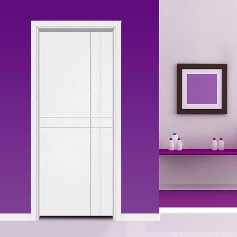 定制 皇朝门实木门烤漆门简约室内门卧室门房门实木复合门静音门套装门