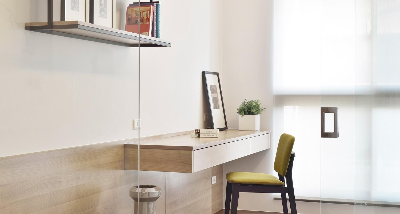 现代简约-清新风格三居室效果图套图