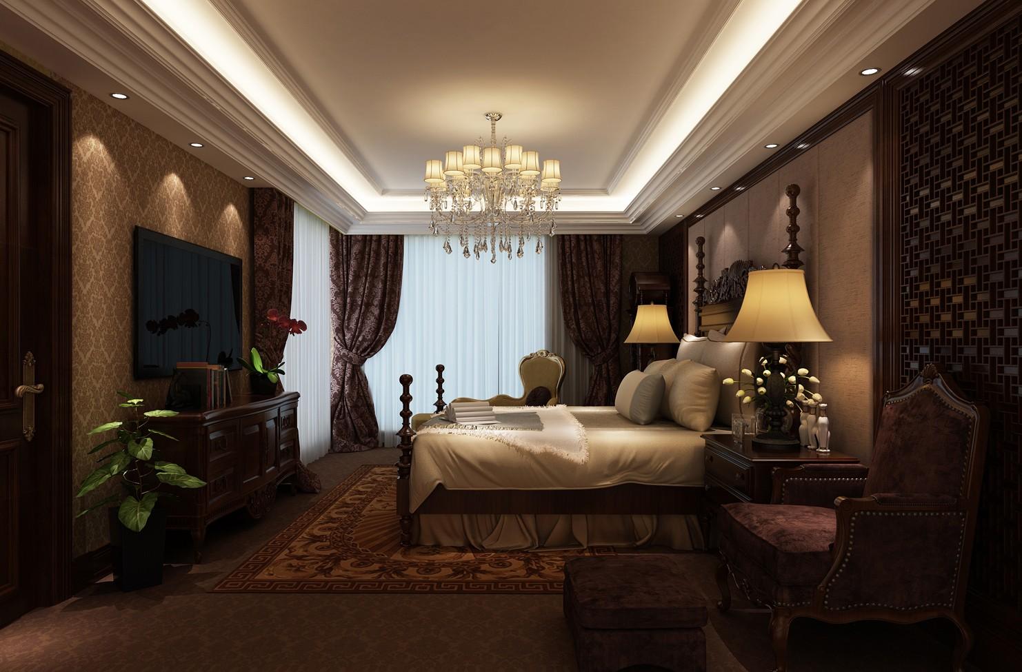 碧桂园天誉-美式别墅案例
