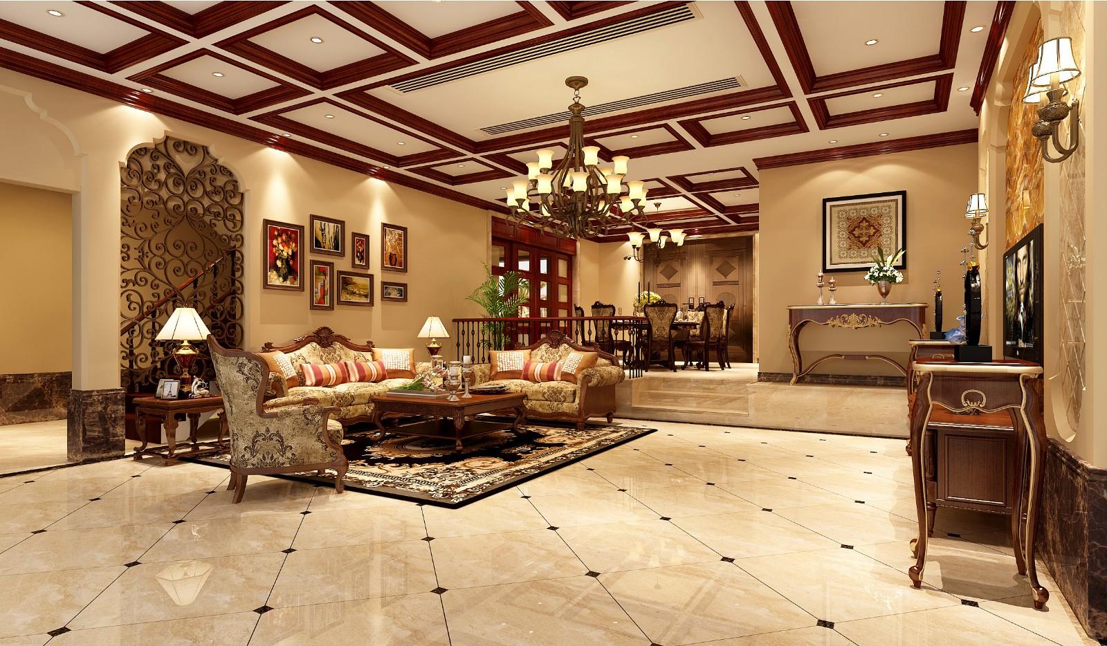 碧桂園天譽-美式別墅案例