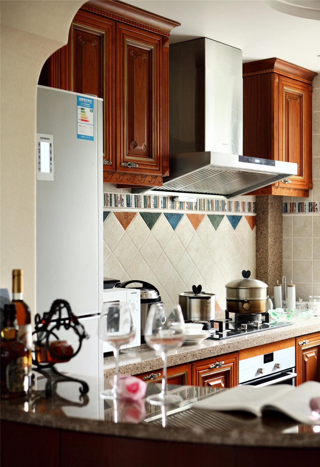 复古美式风格--厨房