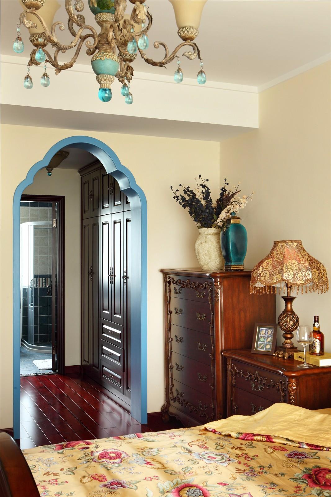 复古美式风格--卧室