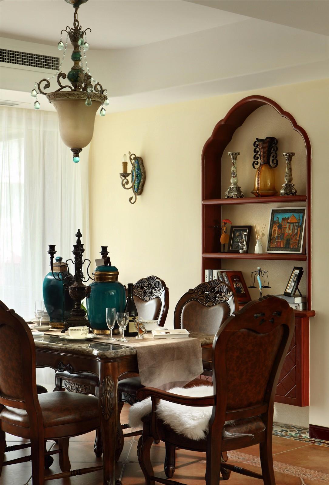复古美式风格--餐厅