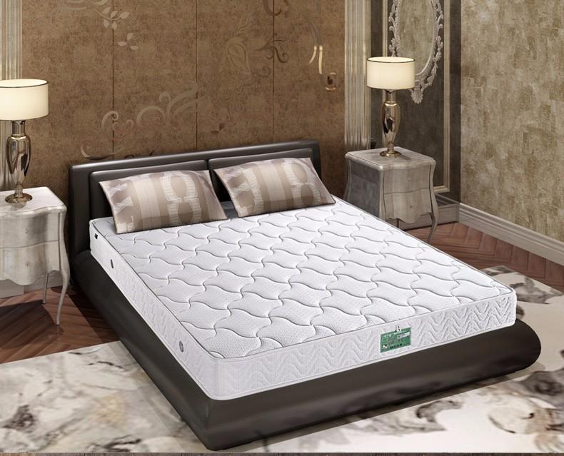 慕思床垫 加硬护脊3D椰棕床垫 席梦思弹簧双人床垫加宽 MFA1-001