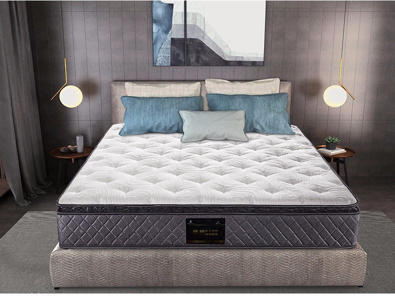 慕思 独立筒弹簧纯天然进口乳胶床垫1.5m 席梦思床垫1.8米 臻品