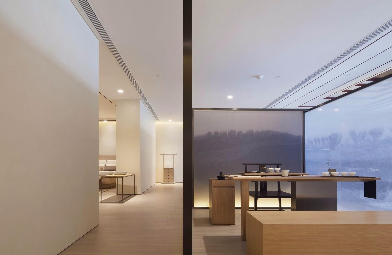 日式风一居室装修效果图