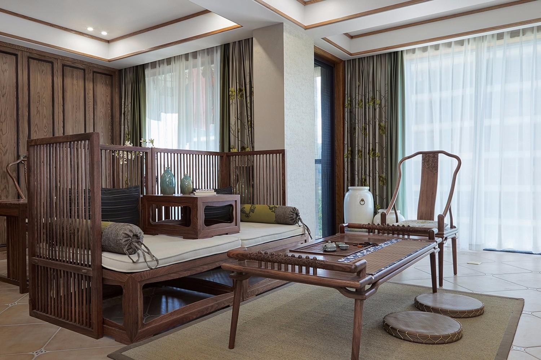 新中式風一居室案例
