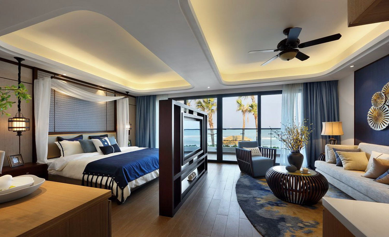 東南亞風一室一廳裝修效果