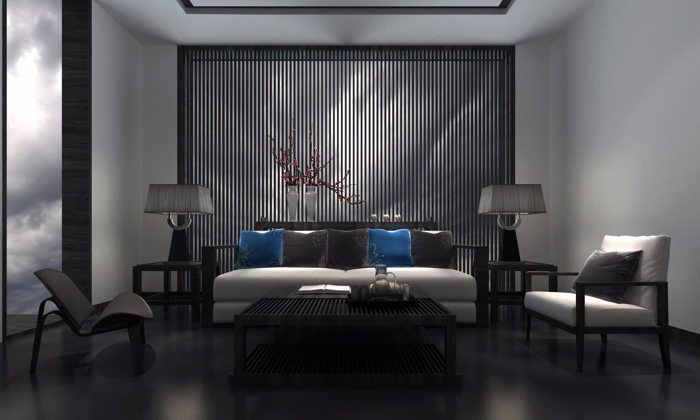 中式一居室裝修效果圖