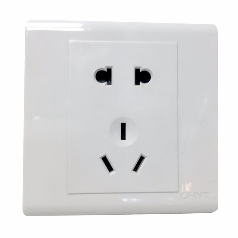 正泰照明开关面板两孔三孔面板插座