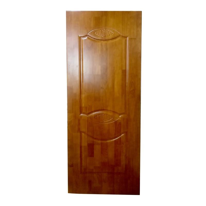明博木门实木门橡胶木平板门