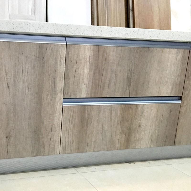 好当家橱柜艾格板实木颗粒定制橱柜