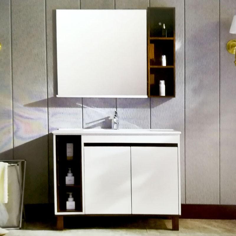 铭康浴室柜  规格:1704-100cm