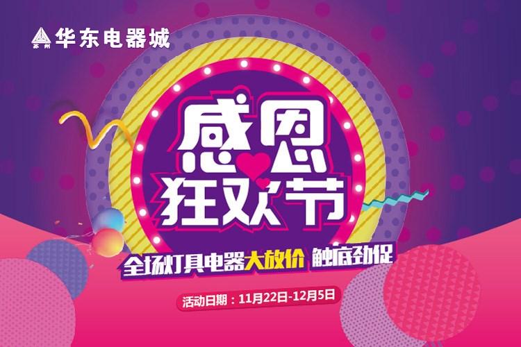 华东电器城感恩狂欢节