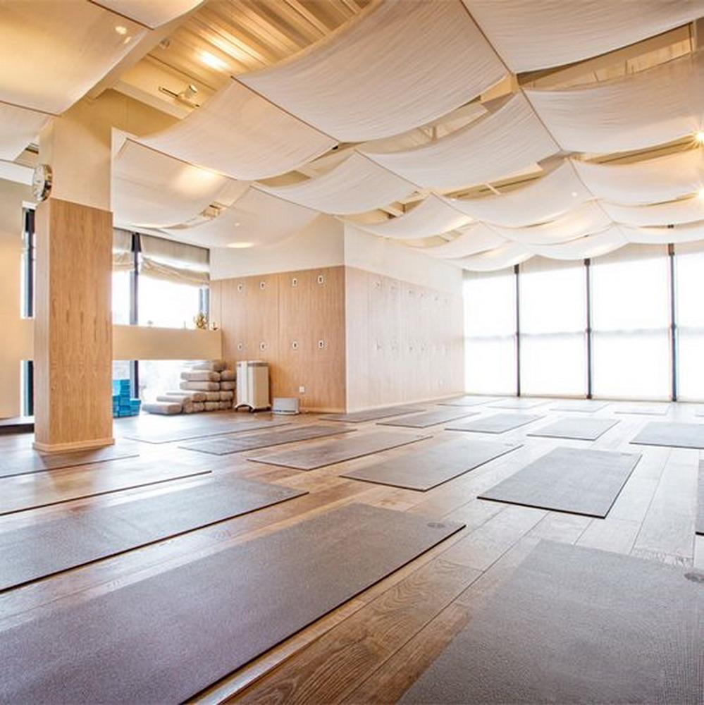 大自然風書屋瑜伽館室內裝修效果圖