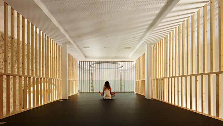 東南亞泰國風瑜伽館室內裝修效果圖