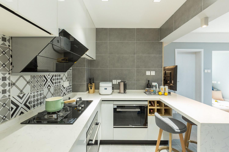 70平米现代一居装修效果图