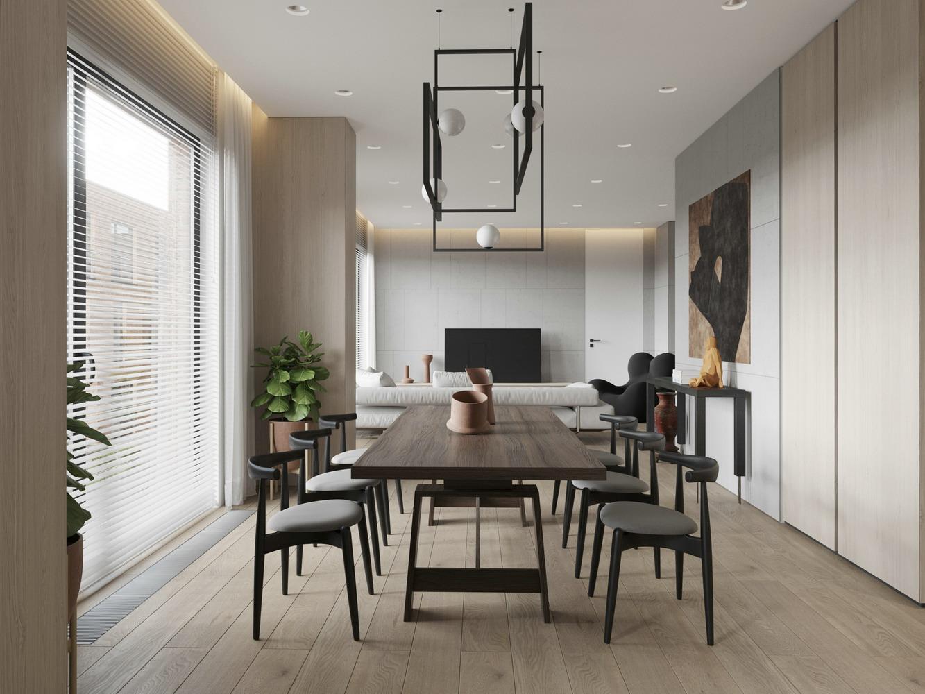 300平米現代風別墅裝修效果圖