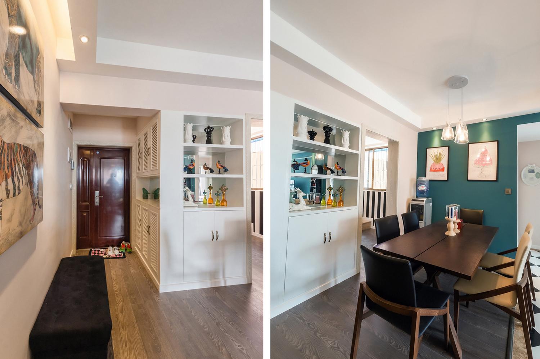 120平美式二居装修效果图