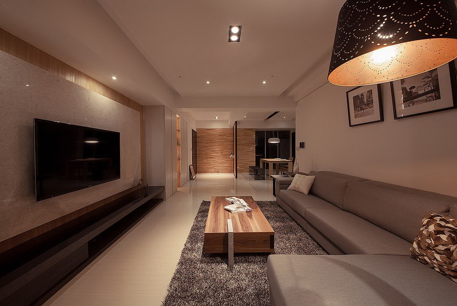 两居日式原木装修设计效果图