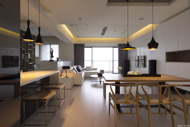 138平時尚簡約居 開放式設計清雅美感